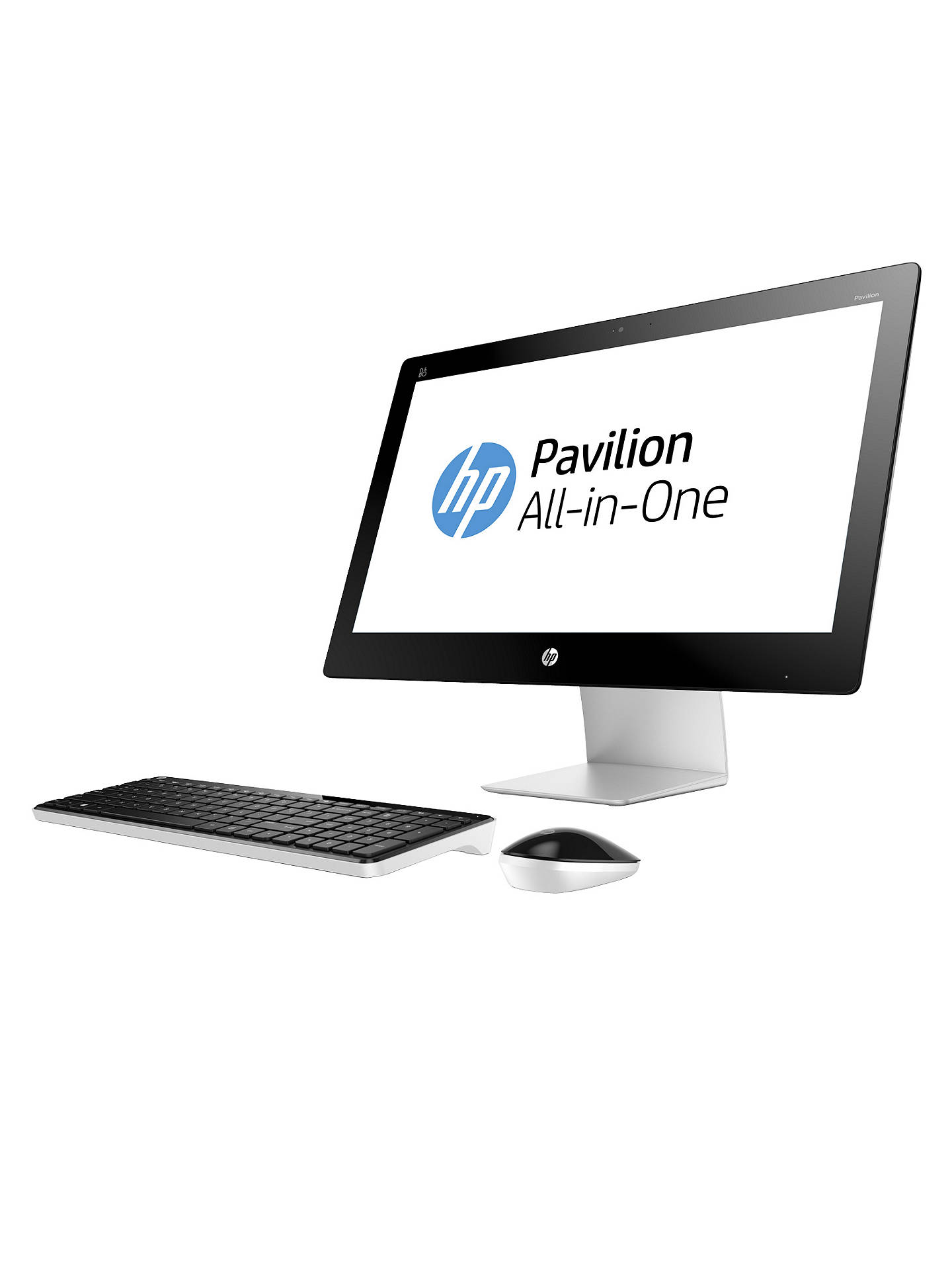 HP Pavilion 23-q170na All-in-One Desktop PC, Intel Core i7, 8GB RAM