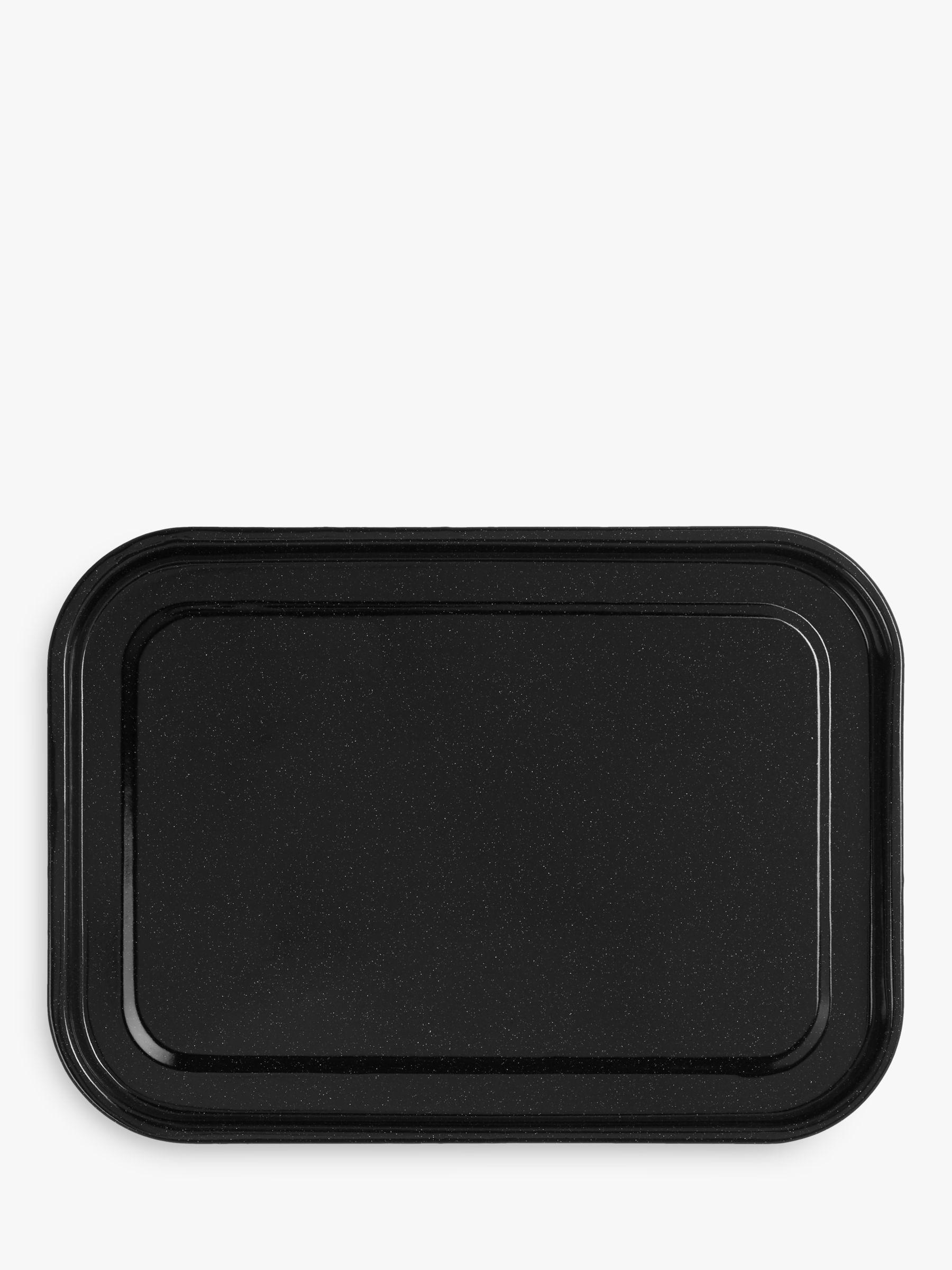 John Lewis & Partners Vitreous Enamel Non-Stick Oven Tray, L40 x W28cm