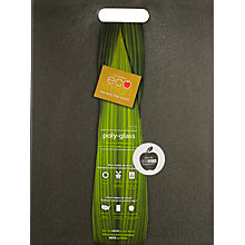 Buy Architec Ecosmart Polyglass Chopping Board, Black Online at johnlewis.com