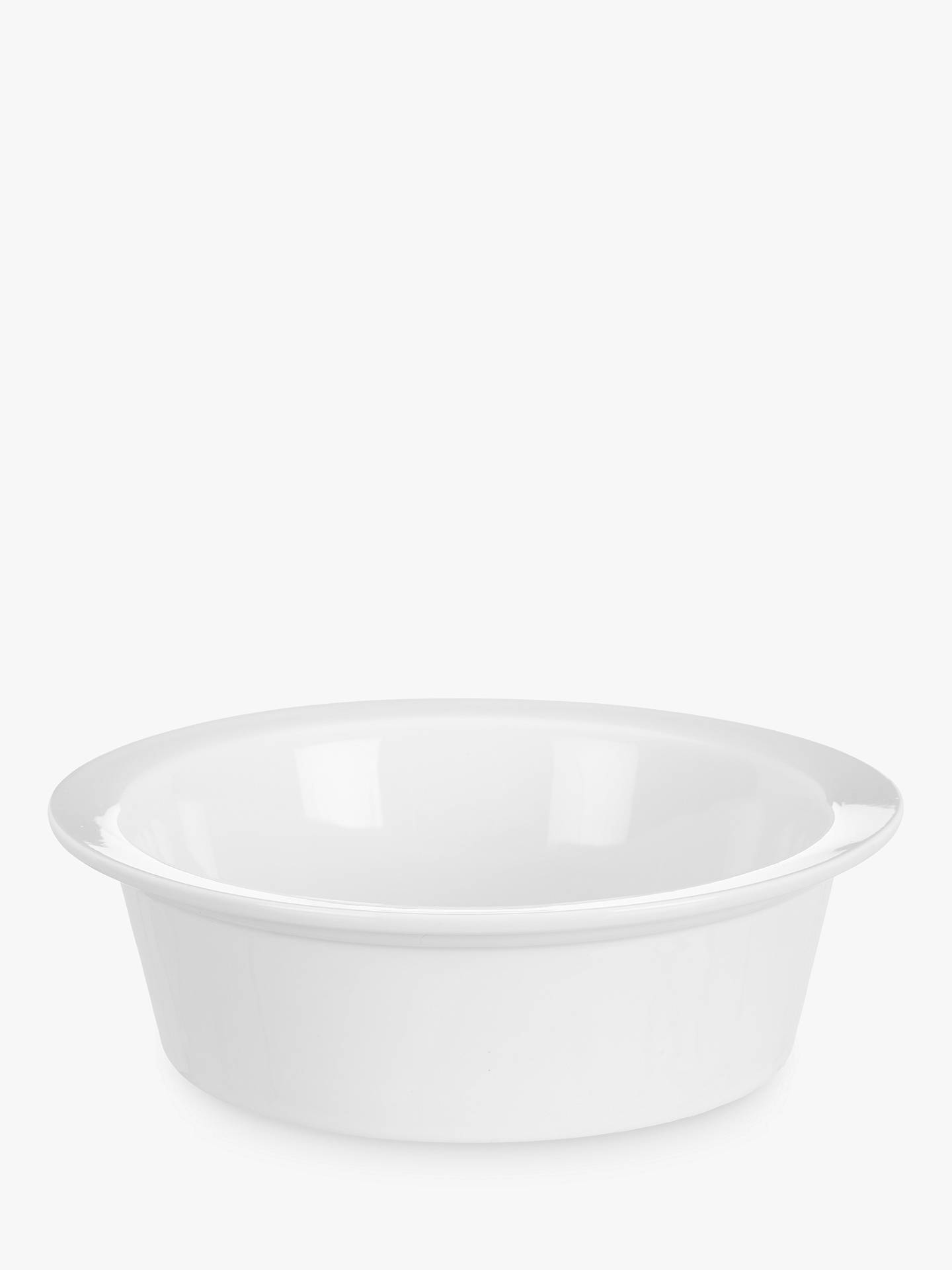 Buy John Lewis & Partners Porcelain Round Individual Pie Oven Dish Online at johnlewis.com