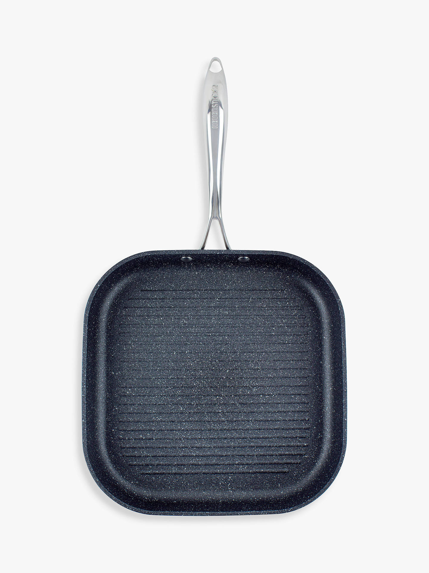 Buy Eaziglide Neverstick2 Non-Stick Square Grill Pan, 28cm Online at johnlewis.com