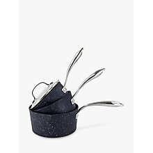 Buy Eaziglide Neverstick2 Saucepan Set, 3 Pieces Online at johnlewis.com