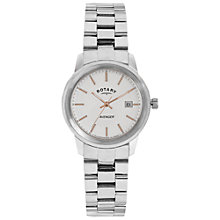 Buy Rotary LB02735/06 Women's Avenger Bracelet Strap Watch, Silver Online at johnlewis.com