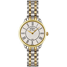 Buy Rotary LB02916/06 Women's Elise Two Tone Bracelet Strap Watch, Silver/Gold Online at johnlewis.com