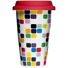 Buy Sagaform Pix Travel Mug with Silcon Lid Online at johnlewis.com