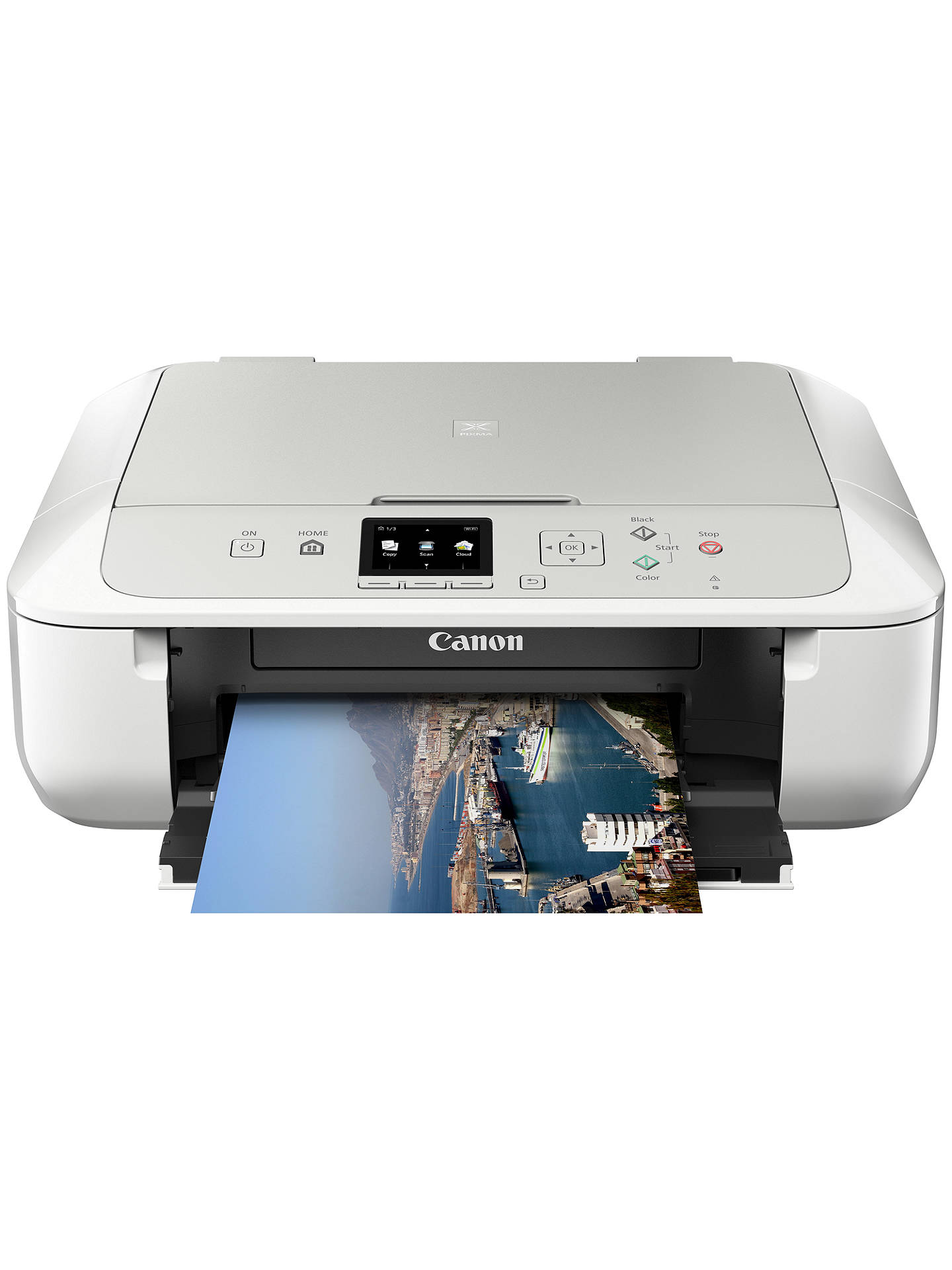 how to connect my pixma printer to wifi
