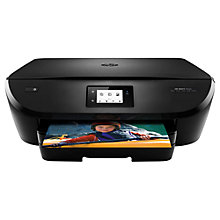 Buy HP Envy 5544 All-In-One Wireless Printer with Touch Screen and Photo Tray, HP Instant Ink Ready With 5 Months Free Trial Online at johnlewis.com