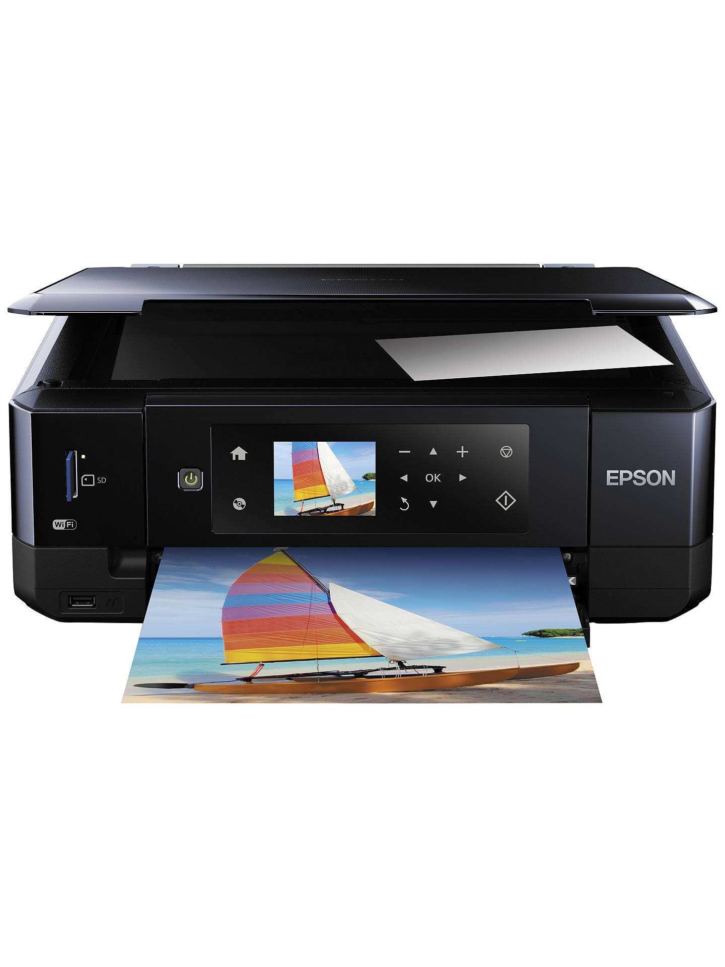 epson expression premium xp 630 all in one wireless printer black rh johnlewis com epson 640 manual epson workforce 630 manual pdf