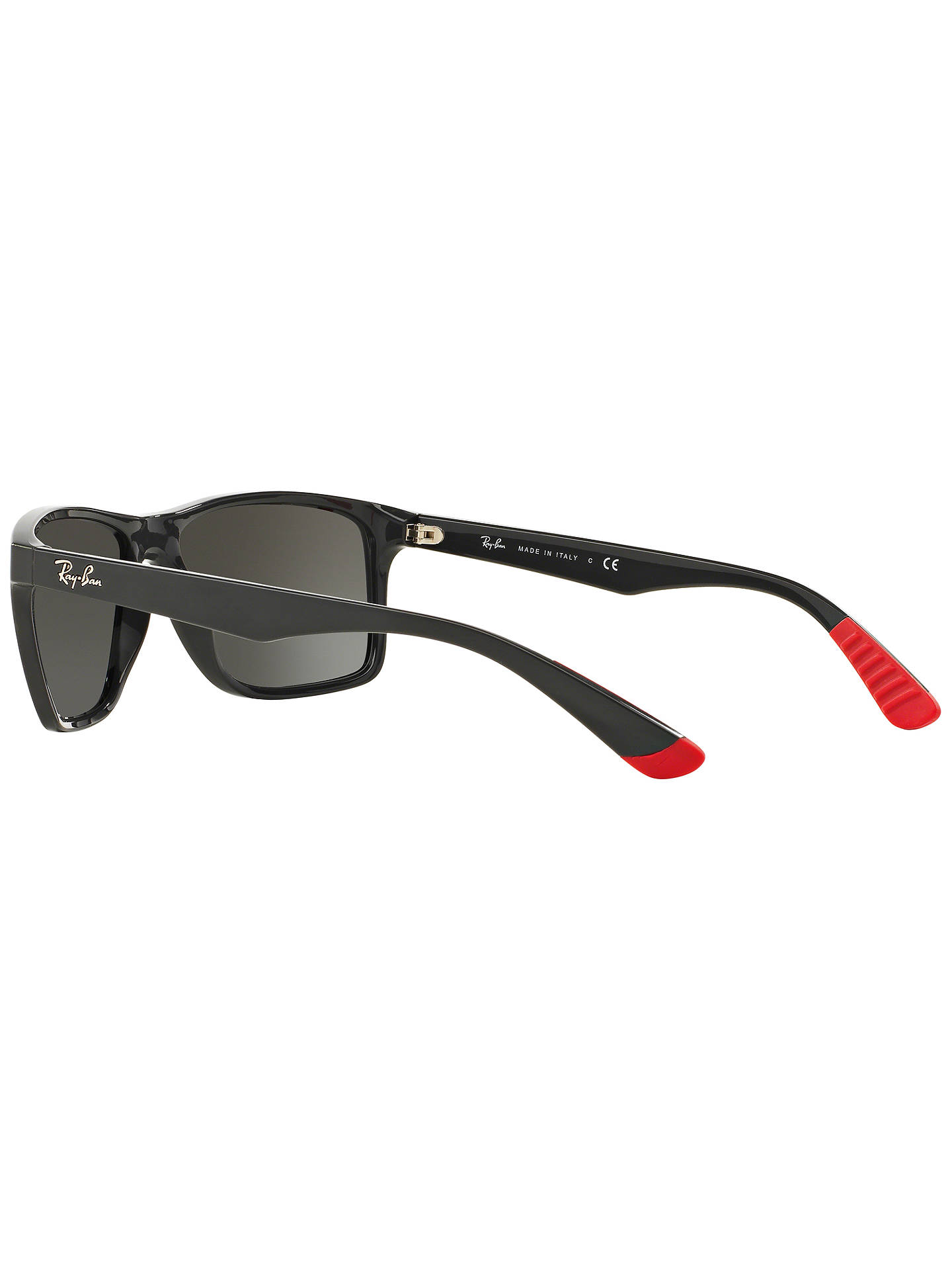 BuyRay-Ban RB4234 Rectangular Sunglasses, Silver Online at johnlewis.com