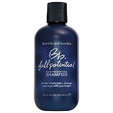 Buy Bumble and bumble Full Potential Hair Preserving Shampoo, 250ml Online at johnlewis.com