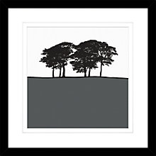 Buy Jacky Al-Samarraie - Skipton Grey, Framed Print, 54 x 54cm Online at johnlewis.com