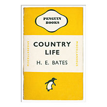 Buy Penguin Books - Country Life Unframed Print with Mount, 40 x 30cm Online at johnlewis.com