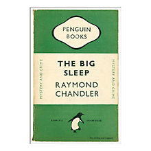 Buy Penguin Books - The Big Sleep Unframed Print with Mount, 40 x 30cm Online at johnlewis.com