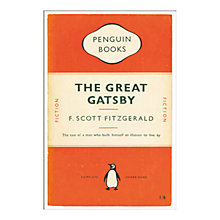Buy Penguin Books - The Great Gatsby Unframed Print with Mount, 40 x 30cm Online at johnlewis.com