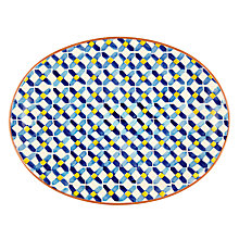Buy John Lewis Alfresco Patterned Platter Online at johnlewis.com