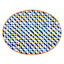 John Lewis Alfresco Patterned Platter