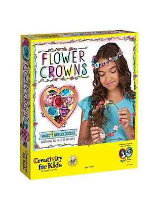 Creativity For Kids Flower Crowns Craft Set
