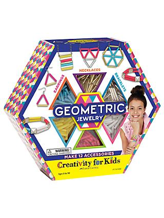 Creativity For Kids Geometric Jewellery Craft Kit
