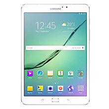 "Buy Samsung Galaxy Tab S2, Octa-Core Exynos, Android, 8"", Wi-Fi, 32GB, White +  FREE Dual USB Portable Power Bank Online at johnlewis.com"