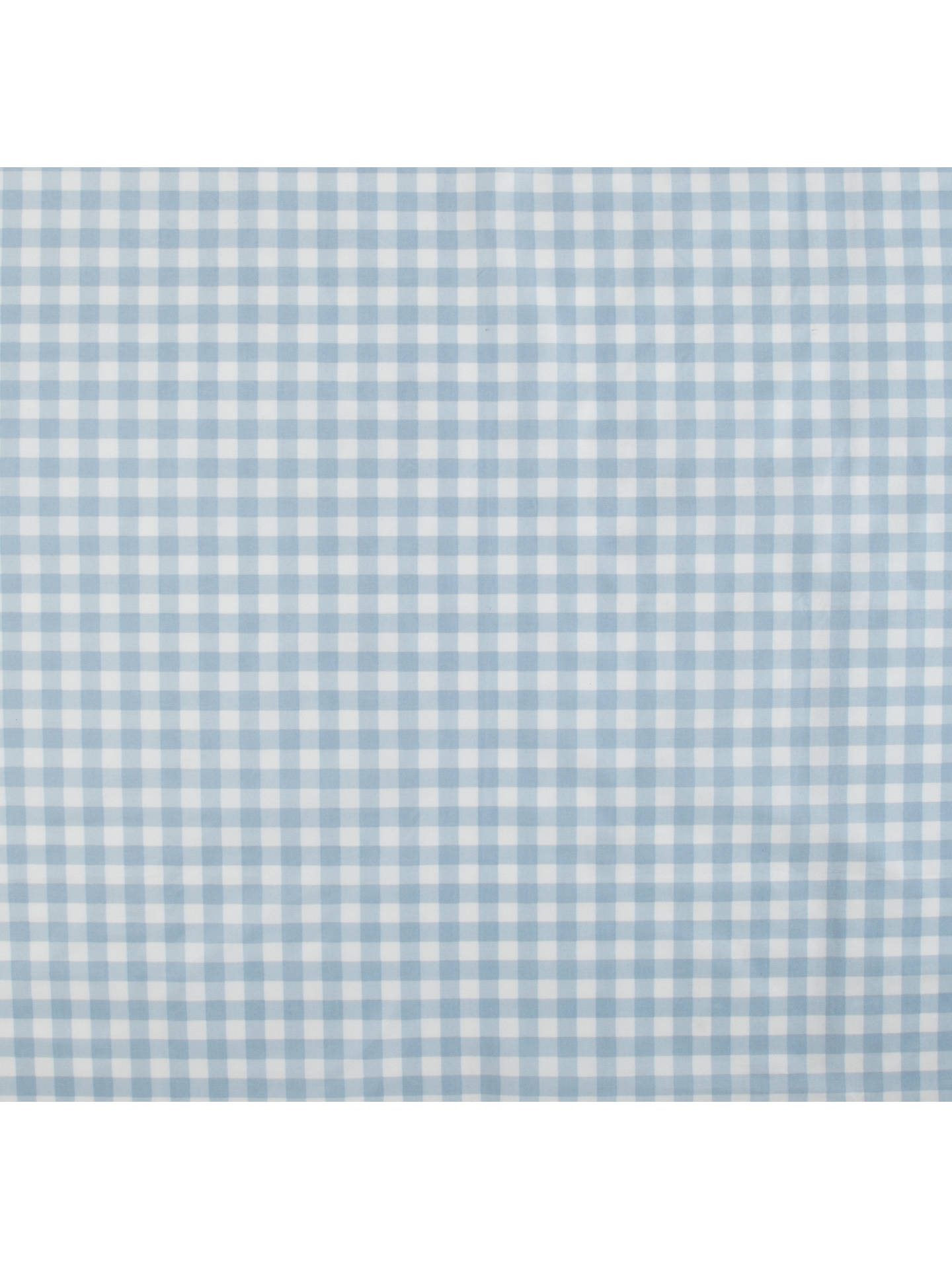 BuyJohn Lewis New Gingham Check PVC Tablecloth Fabric, Blue Online At  Johnlewis.com ...