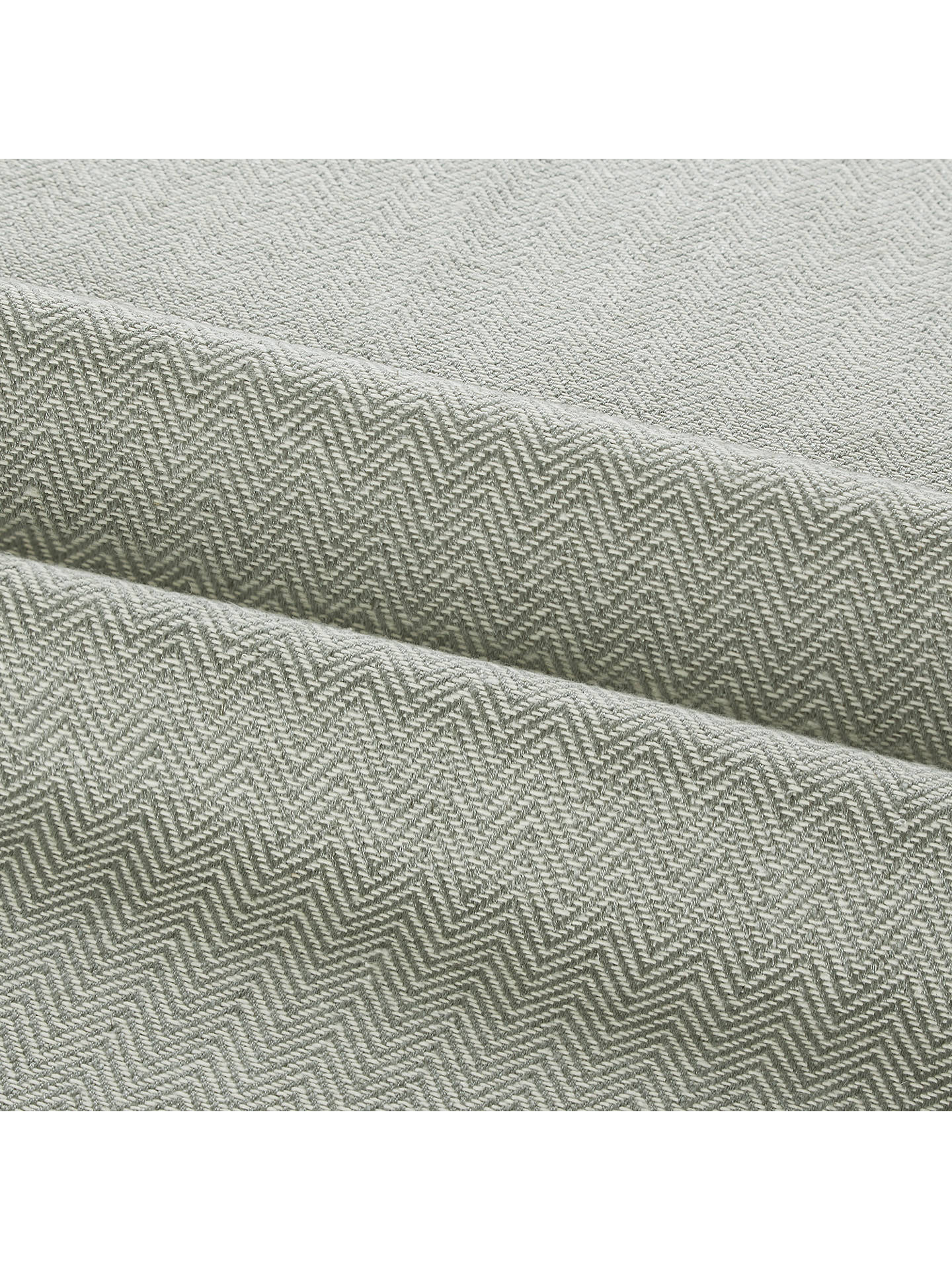 Buy Croft Collection Herringbone Furnishing Fabric, Slate Online at johnlewis.com