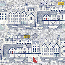 Buy John Lewis Nordic Houses PVC Tablecloth Fabric Online at johnlewis.com