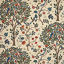 Buy Morris & Co Kelmscott Tree Furnishing Fabric Online at johnlewis.com
