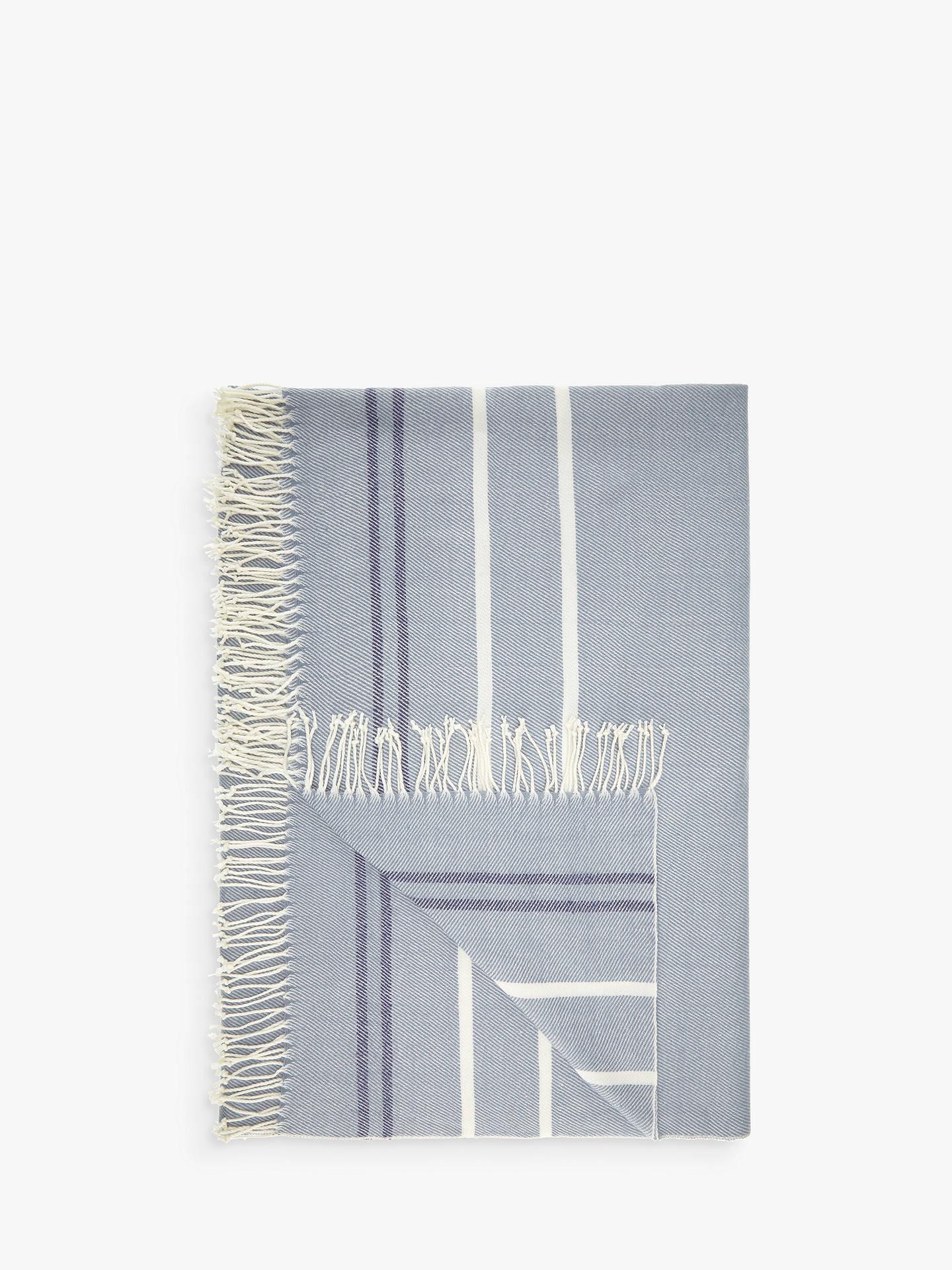 john lewis partners coastal stripe throw at john lewis. Black Bedroom Furniture Sets. Home Design Ideas