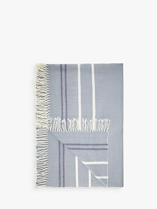 John Lewis & Partners Coastal Stripe Throw