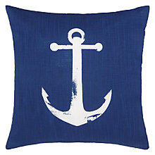 Buy John Lewis Anchor Cushion, Blue Online at johnlewis.com
