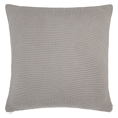 John Lewis Rye Plain Knit Cushion