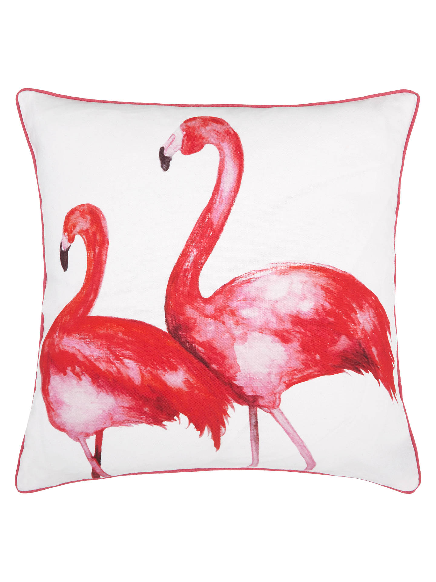 Buy John Lewis Flamingo Cushion, Pink Online at johnlewis.com