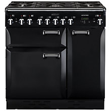 Buy Rangemaster Leckford 90cm Dual Fuel Range Cooker Online at johnlewis.com
