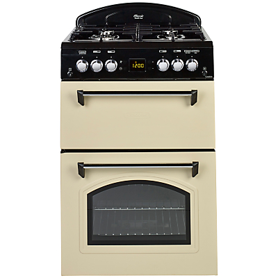 Image of Leisure Beko CLA60GAC Classic 60cm Double Oven Gas Cooker Cream
