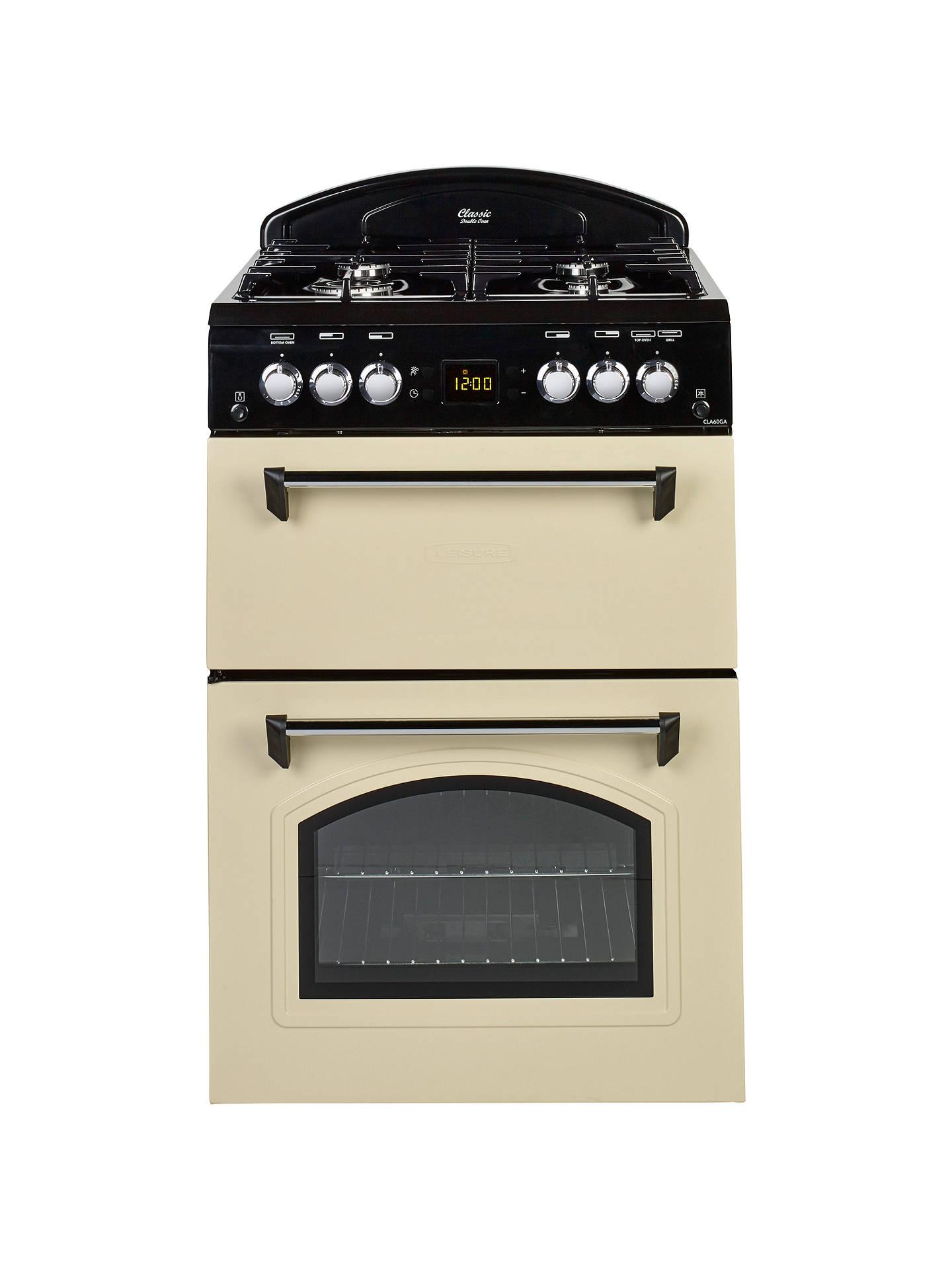 leisure cla60ga classic gas cooker at john lewis partners. Black Bedroom Furniture Sets. Home Design Ideas