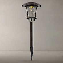 Buy John Lewis Santos Outdoor LED Stake Lights, Pack of 2, Black Online at johnlewis.com