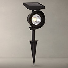 Buy John Lewis Shine Outdoor LED Stake Spotlight, Grey Online at johnlewis.com