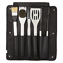 Buy John Lewis BBQ Tool Set, 6 Piece Online at johnlewis.com