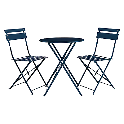 John Lewis Brighton Bistro Outdoor Table & Chair Set