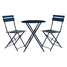 Buy John Lewis Brighton Bistro Outdoor Table & Chair Set Online at johnlewis.com