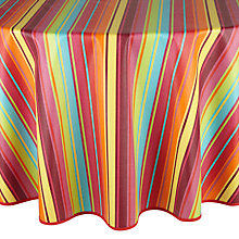 Buy John Lewis Samba Wipe Clean Round Tablecloth Online at johnlewis.com