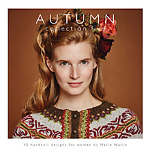 Buy Rowan Autumn Collection by Marie Wallin Knitting Pattern Book Online at johnlewis.com