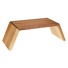 Buy Social by Jason Atherton Wooden Riser, Small Online at johnlewis.com
