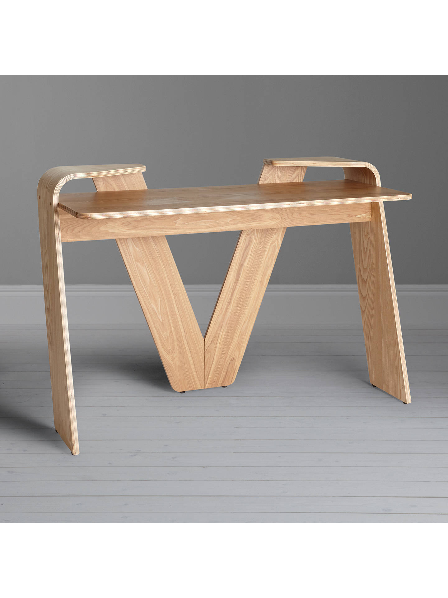 Buy John Lewis & Partners Gravity Desk, Ash Online at johnlewis.com