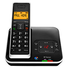 Buy BT Xenon 1500 Cordless Telephone with Answering Machine, Single DECT Online at johnlewis.com