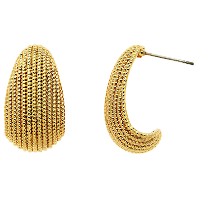 Product photo of Monet textured drop earrings