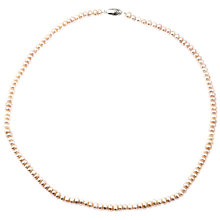 Buy A B Davis Round Pearl Necklace Online at johnlewis.com