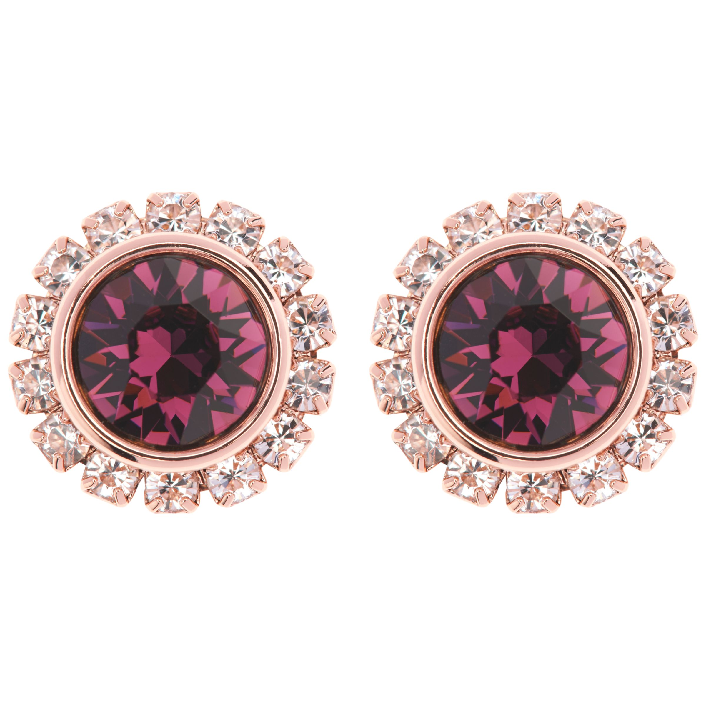 6b5c9033eb57 Ted Baker Sully Swarovski Crystal Stud Earrings at John Lewis   Partners