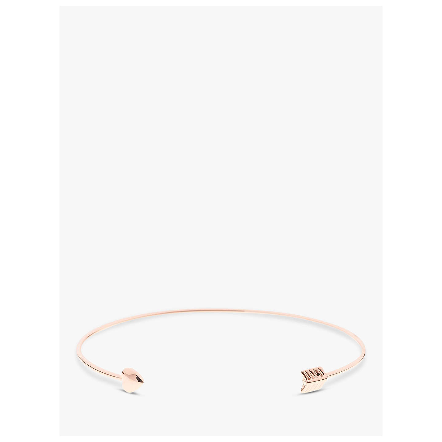 hinge goldclear jewelry normal product in lyst bracelet rebecca metallic minkoff arrow gallery gold