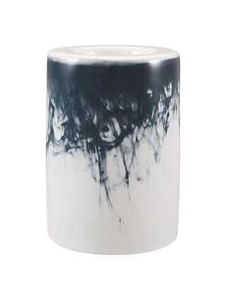 Buy John Lewis & Partners Water Pattern Small Tealight Holder, Blue/White Online at johnlewis.com